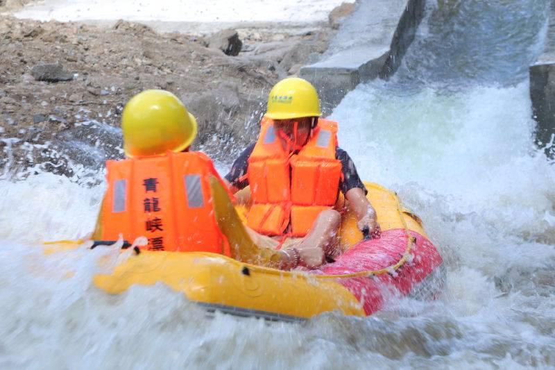 【跟团游】富阳青龙峡漂流+通天飞瀑一日游